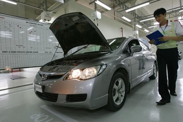 Kiểm tra hệ thống đèn ô tô