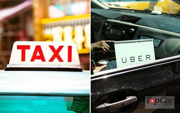 Nên lái taxi truyền thống hay lái taxi cho uber, Grab?
