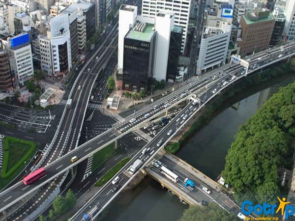 Đường xá ở Nhật Bản