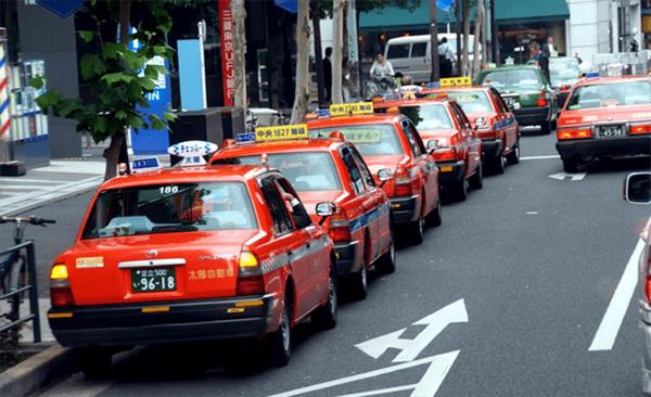 Taxi ở Nhật Bản