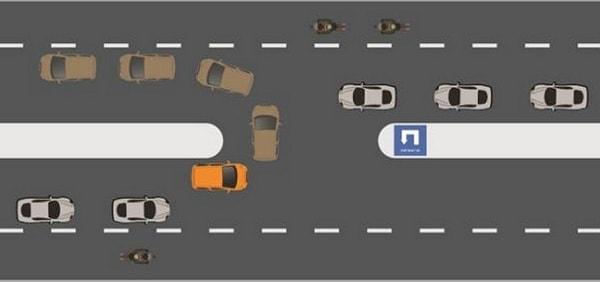 Hướng dẫn cách quay đầu xe và lái xe an toàn khi vào cua