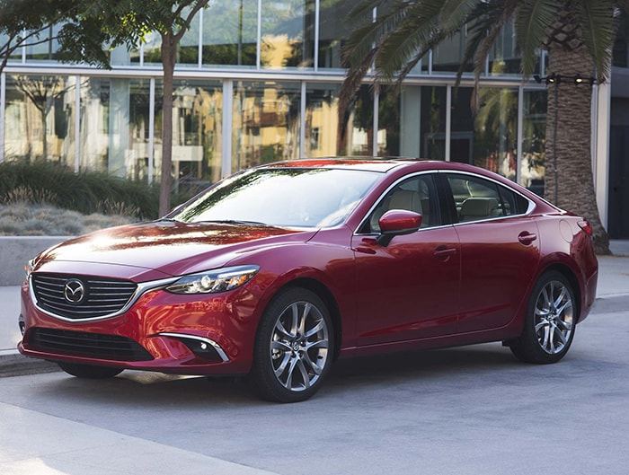 Mẫu xe ô tô Mazda6 2017