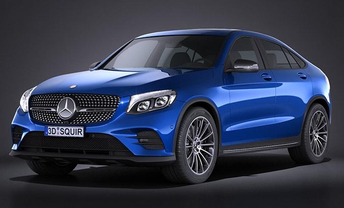 Mẫu xe ô tô Mercedes-Benz GLC Coupé 2017