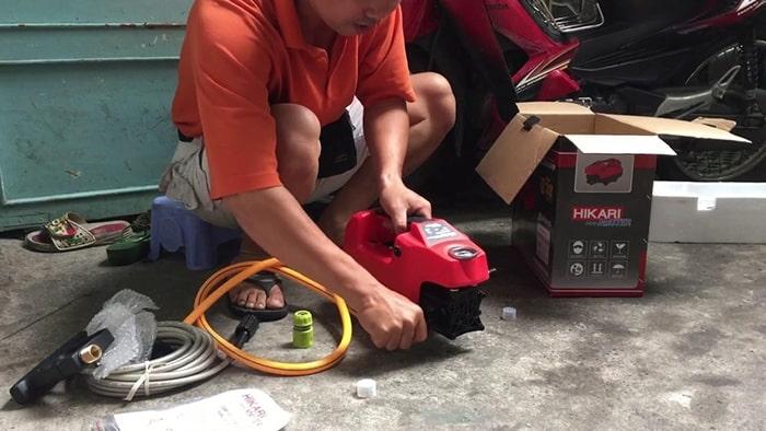Nguyên nhân và cách sửa chữa khi máy rửa xe không ra nước