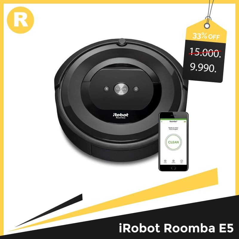 Robot hút bụi Roomba E5