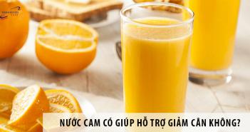 Nước cam có giúp giảm cân không? Uống thế nào là đúng?